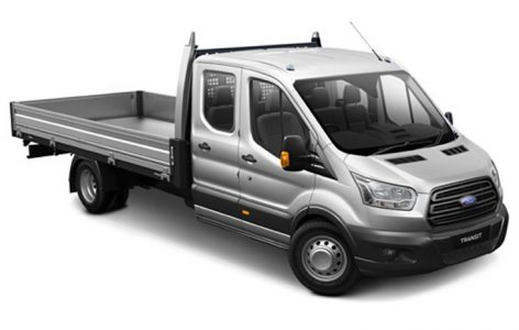 ford transit dcab tipper